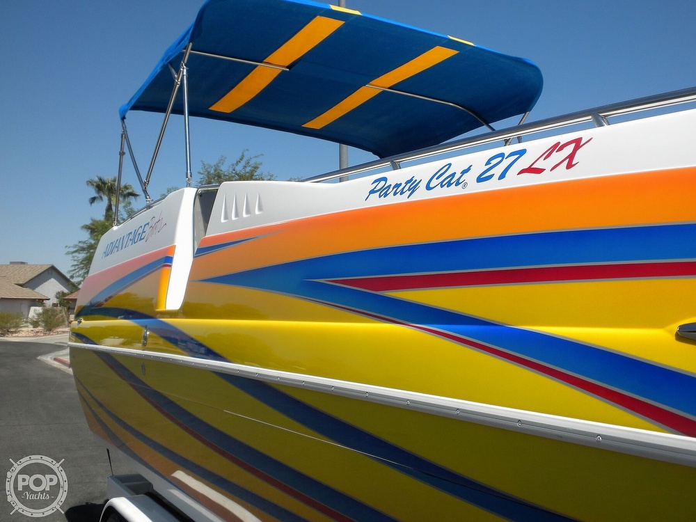 2007 Advantage boat for sale, model of the boat is Party Cat 27 LX & Image # 5 of 40
