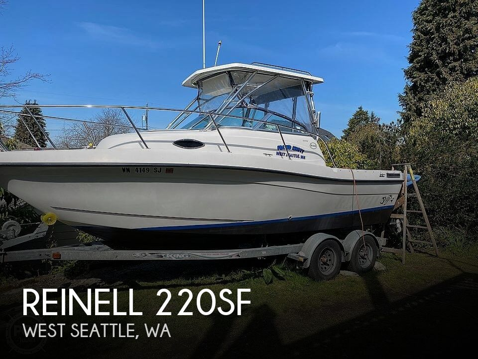 Used Reinell Boats For Sale in Washington by owner | 2001 Reinell 22