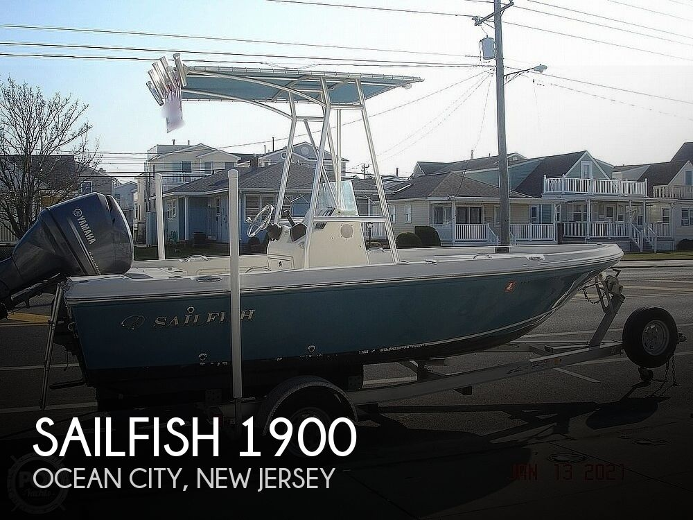 2014 Sailfish boat for sale, model of the boat is 1900 Bay Boat & Image # 1 of 40