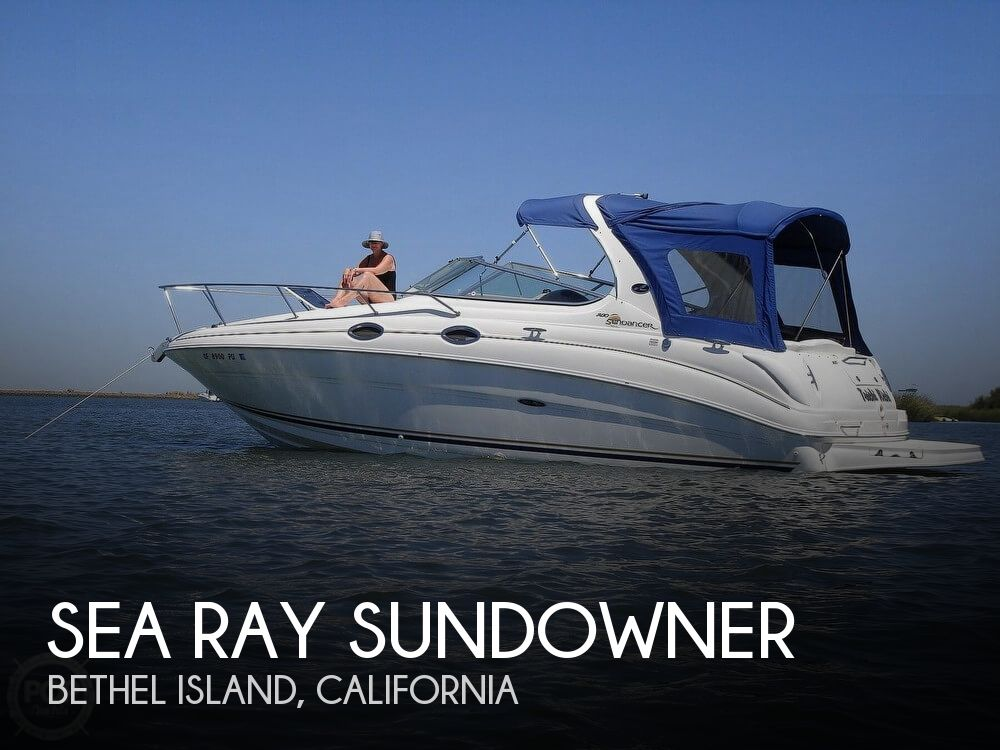 Used Sea Ray Boats For Sale in San Jose, California by owner | 2002 31 foot Sea Ray Sundowner