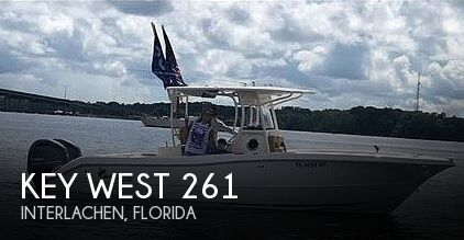Used Boats For Sale in Deltona, Florida by owner | 2019 Key West Billistic 261