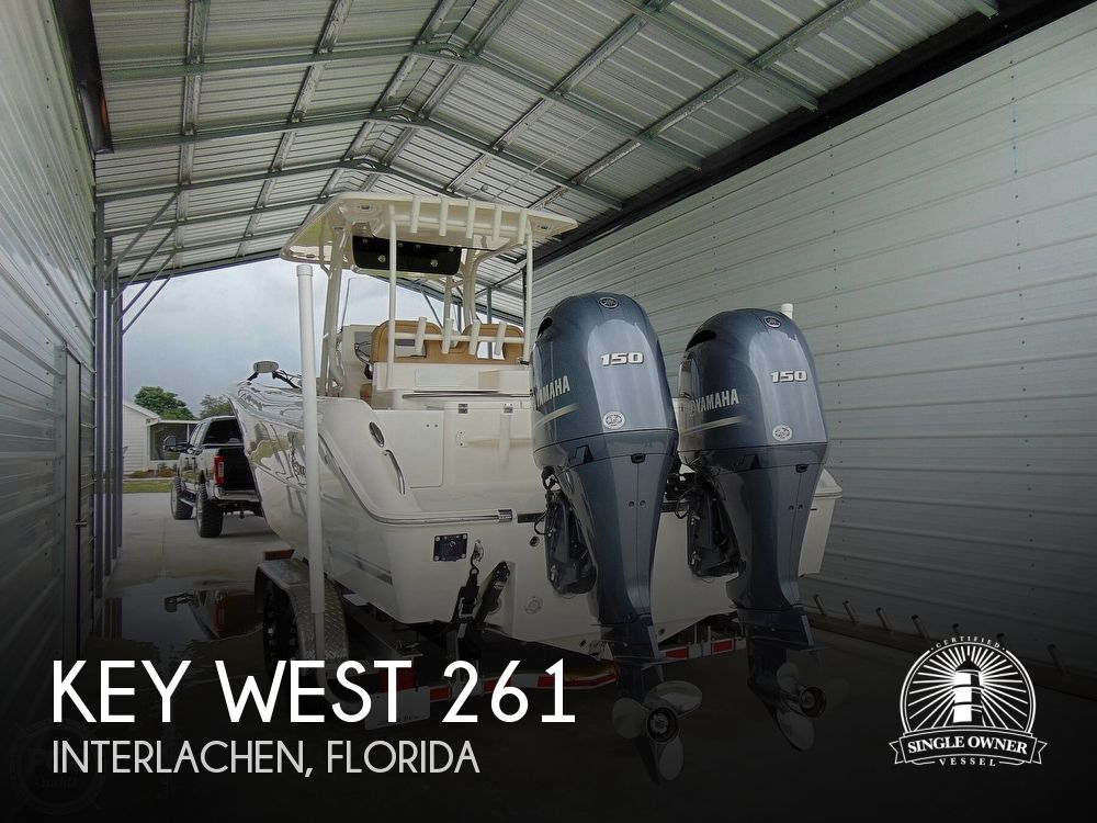 2019 Key West boat for sale, model of the boat is Billistic 261 & Image # 1 of 40