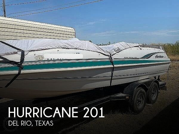 2000 HURRICANE FUN DECK 201 for sale
