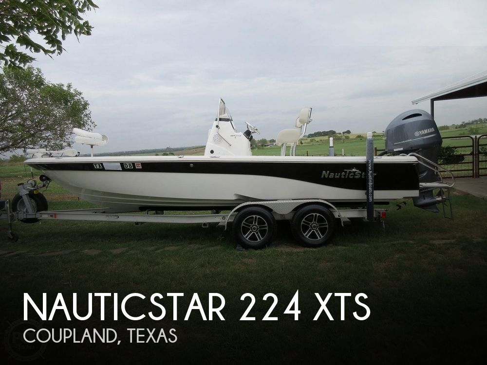 2015 NAUTIC STAR 224 XTS for sale
