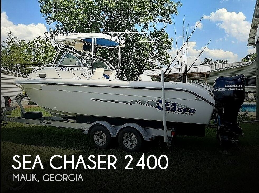 2004 Sea Chaser boat for sale, model of the boat is 2400 Offshore Series & Image # 1 of 29