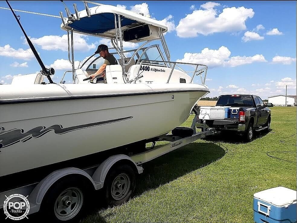 2004 Sea Chaser boat for sale, model of the boat is 2400 Offshore Series & Image # 3 of 29