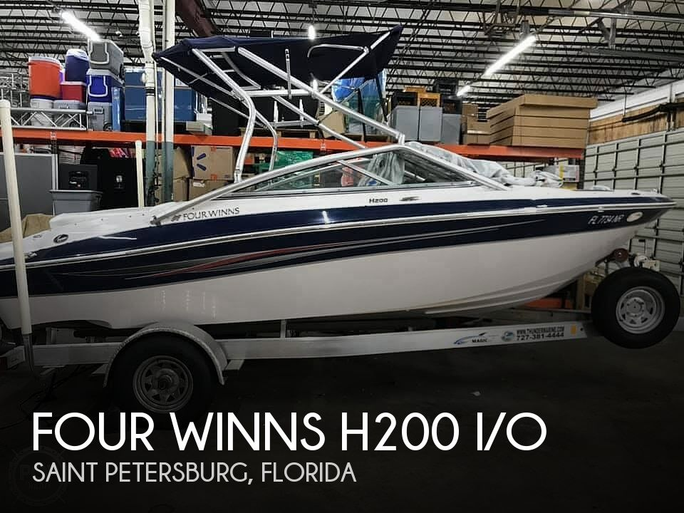 Used Four Winns Boats For Sale in Florida by owner | 2008 Four Winns H200 I/O