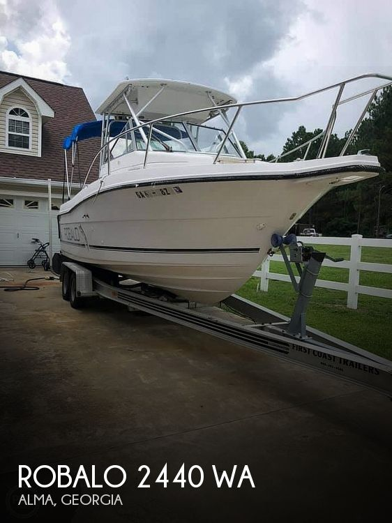 1995 Robalo boat for sale, model of the boat is 2440 WA & Image # 1 of 23