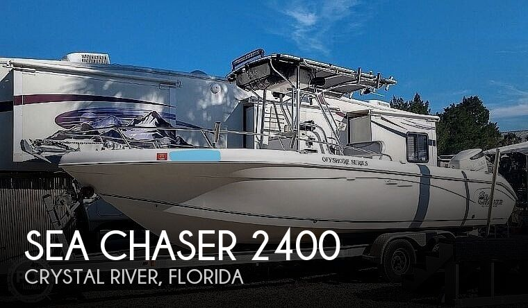 2007 Sea Chaser boat for sale, model of the boat is Offshore Series 2400 CC SC & Image # 1 of 40
