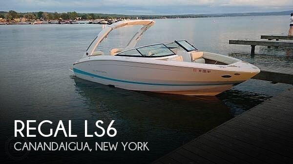 Used Boats For Sale in Syracuse, New York by owner | 2019 Regal Ls6