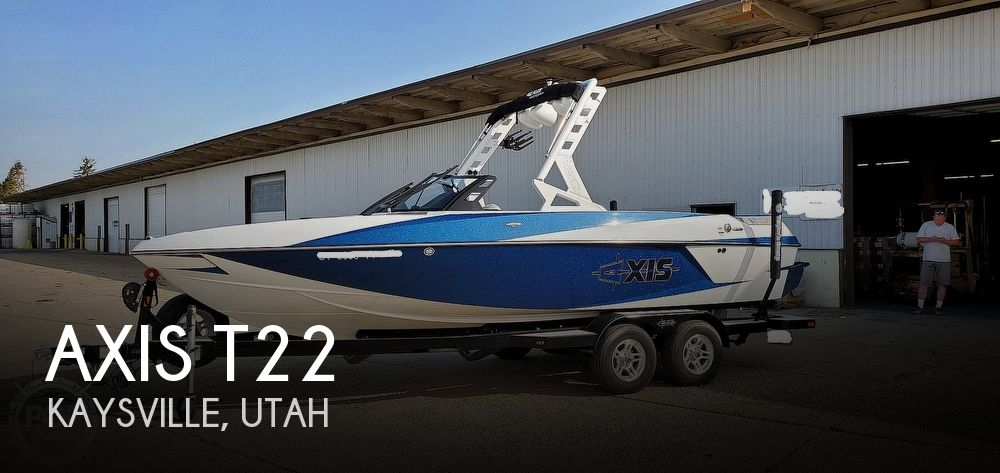 2017 Axis boat for sale, model of the boat is T22 & Image # 1 of 40