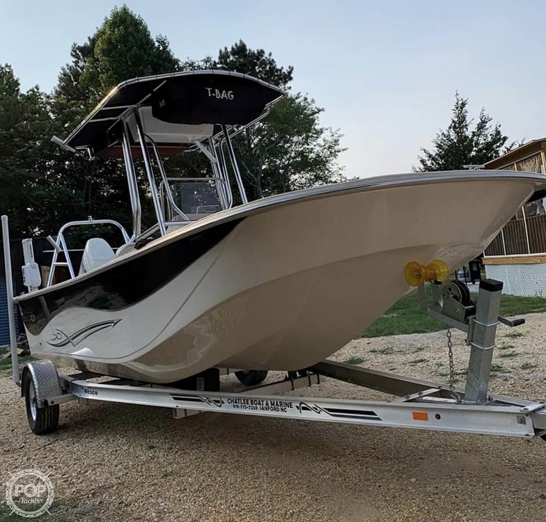 2019 Carolina Skiff boat for sale, model of the boat is 218 DLV & Image # 2 of 40
