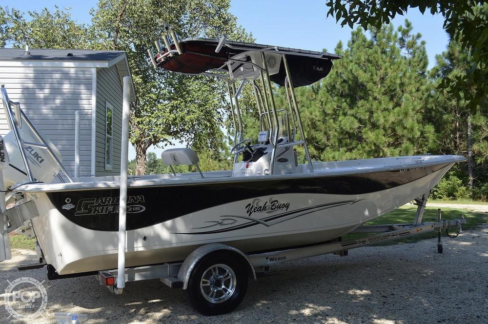 2019 Carolina Skiff boat for sale, model of the boat is 218 DLV & Image # 6 of 40