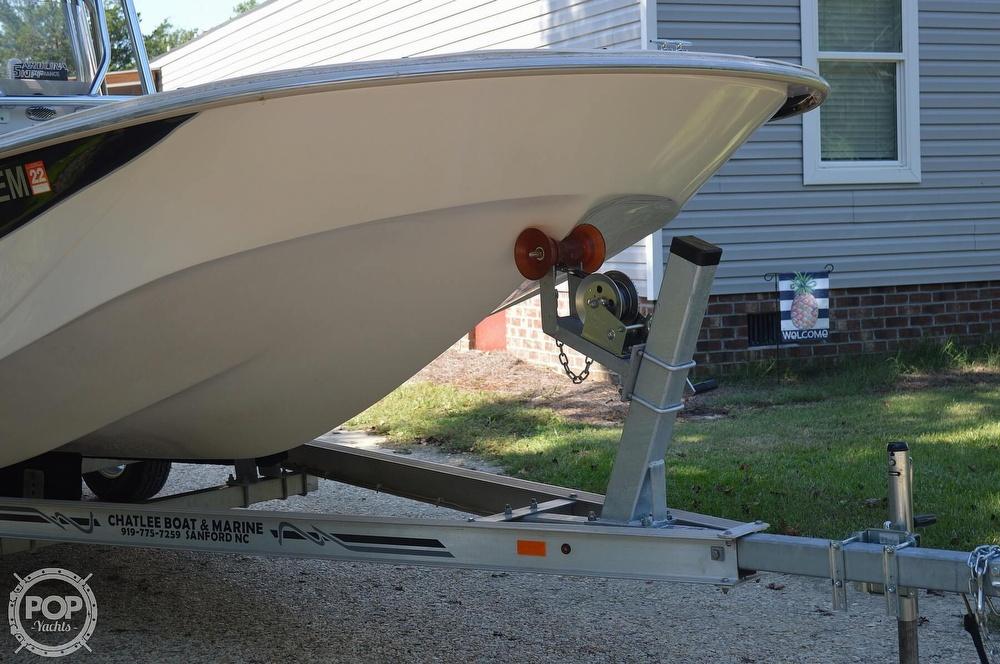 2019 Carolina Skiff boat for sale, model of the boat is 218 DLV & Image # 22 of 40