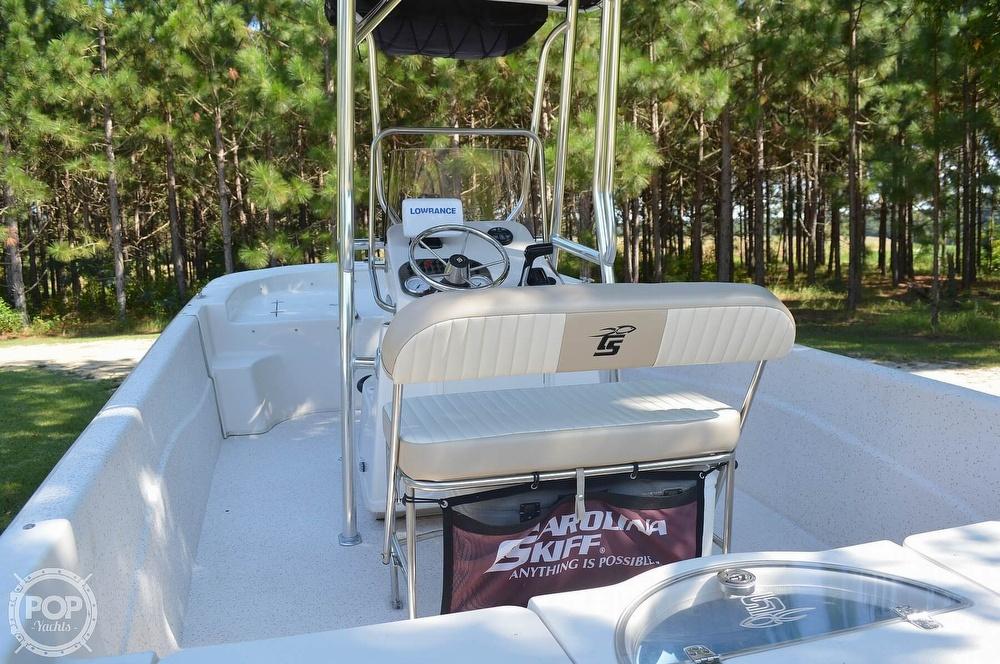 2019 Carolina Skiff boat for sale, model of the boat is 218 DLV & Image # 11 of 40