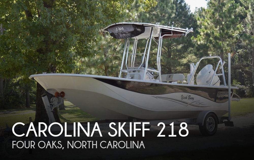 2019 CAROLINA SKIFF 218 DLV for sale