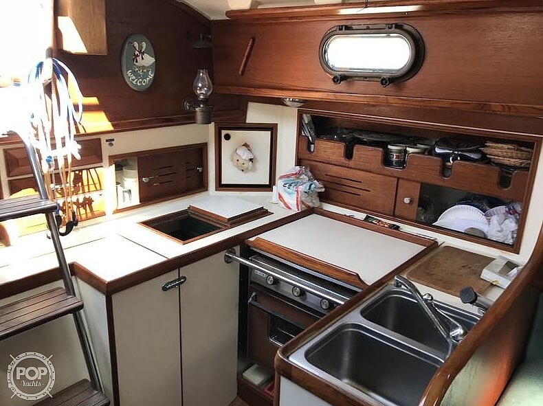 1982 Cape Dory boat for sale, model of the boat is 36 Cutter & Image # 4 of 9