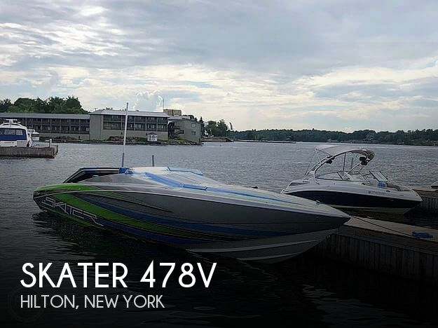 Used High Performance Boats For Sale by owner | 2017 Skater 478V