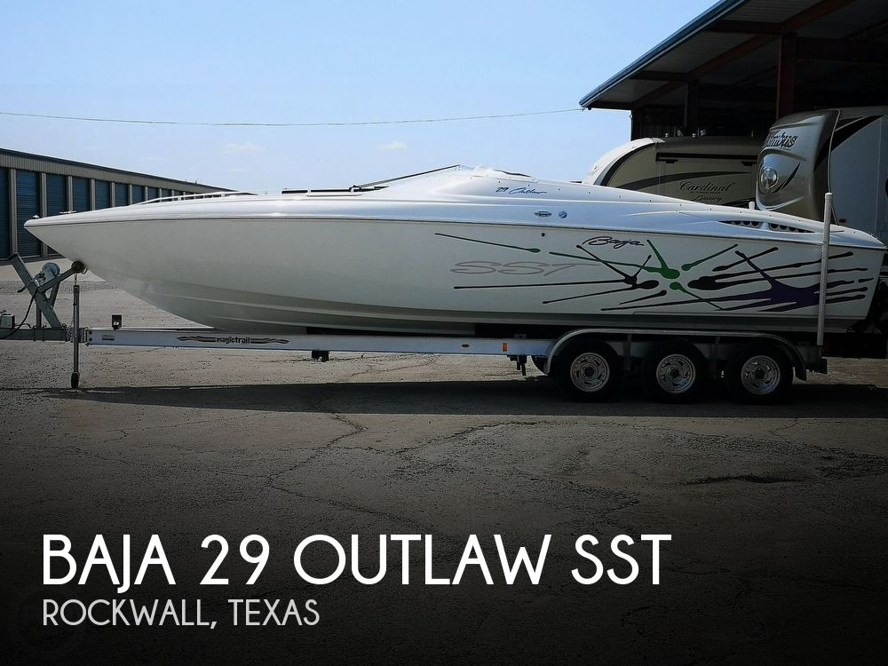 2000 Baja boat for sale, model of the boat is 29 Outlaw SST & Image # 1 of 40