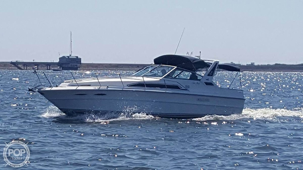 1988 Sea Ray boat for sale, model of the boat is 340 Express Cruiser & Image # 2 of 40