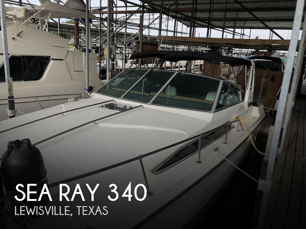 1988 Sea Ray boat for sale, model of the boat is 340 Express Cruiser & Image # 1 of 40