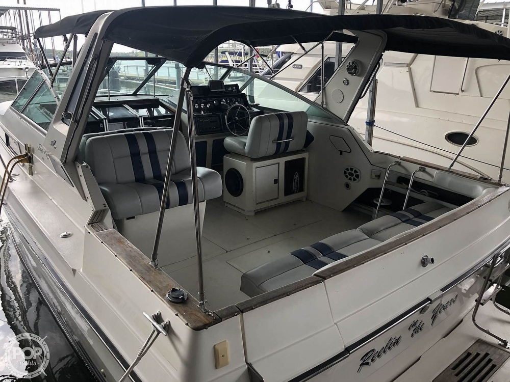 1988 Sea Ray boat for sale, model of the boat is 340 Express Cruiser & Image # 22 of 40
