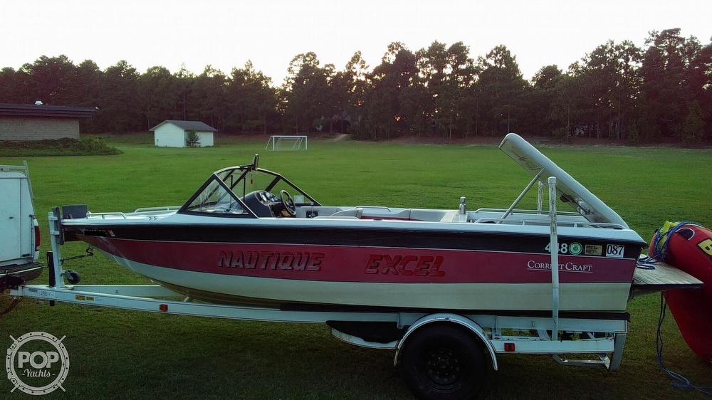 1992 Correct Craft boat for sale, model of the boat is Nautique Excel & Image # 2 of 10