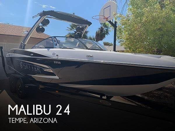 Used Boats For Sale in Phoenix, Arizona by owner   2013 Malibu 24 Wakesetter