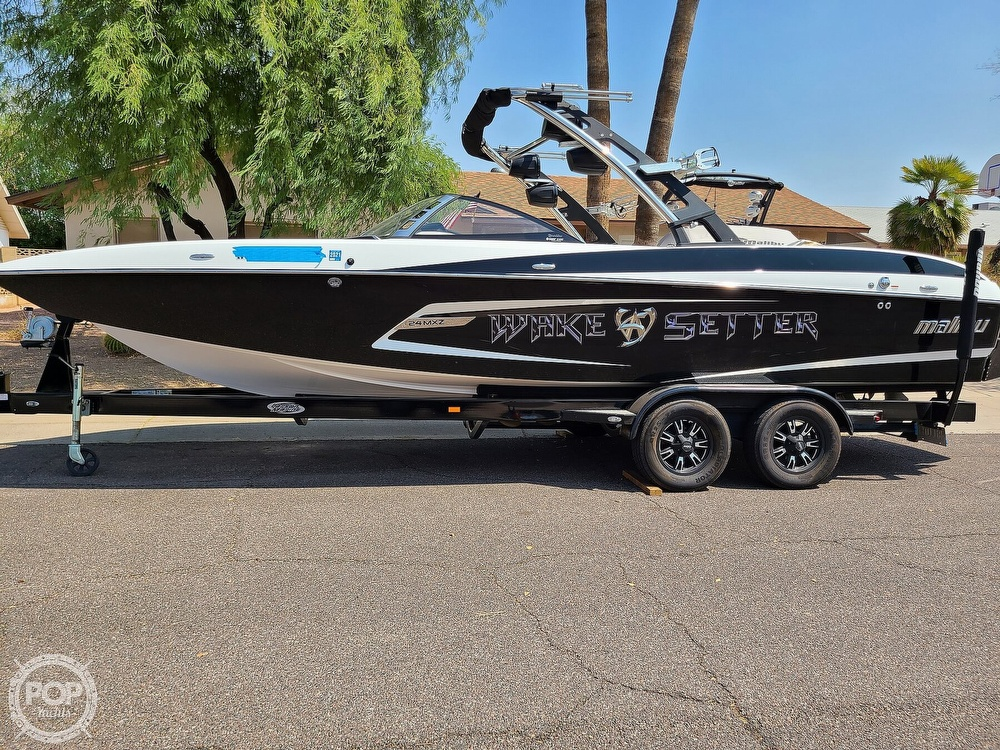 2013 Malibu boat for sale, model of the boat is 24 MXZ Wakesetter & Image # 2 of 40