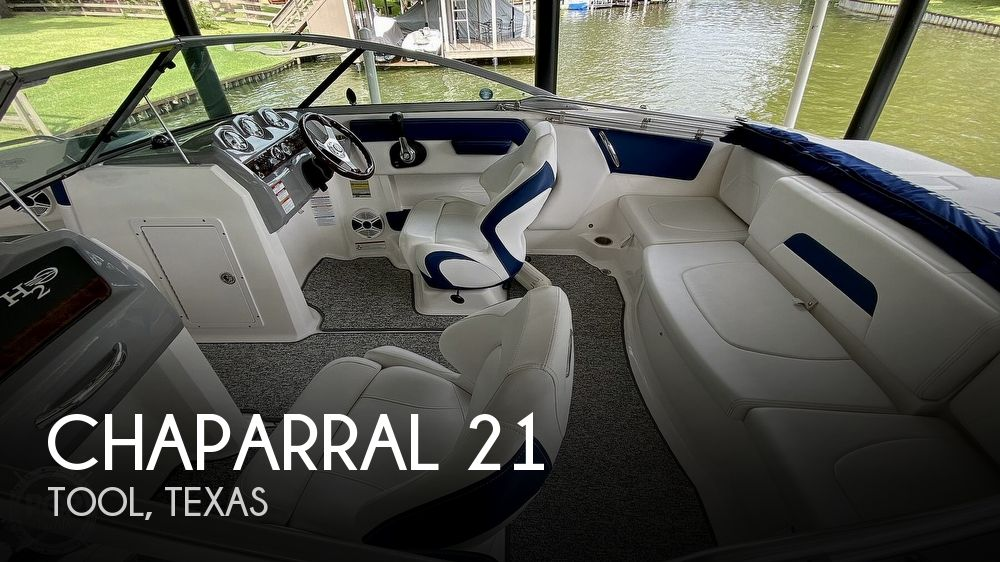 2014 Chaparral boat for sale, model of the boat is H2O 21 Deluxe & Image # 1 of 40