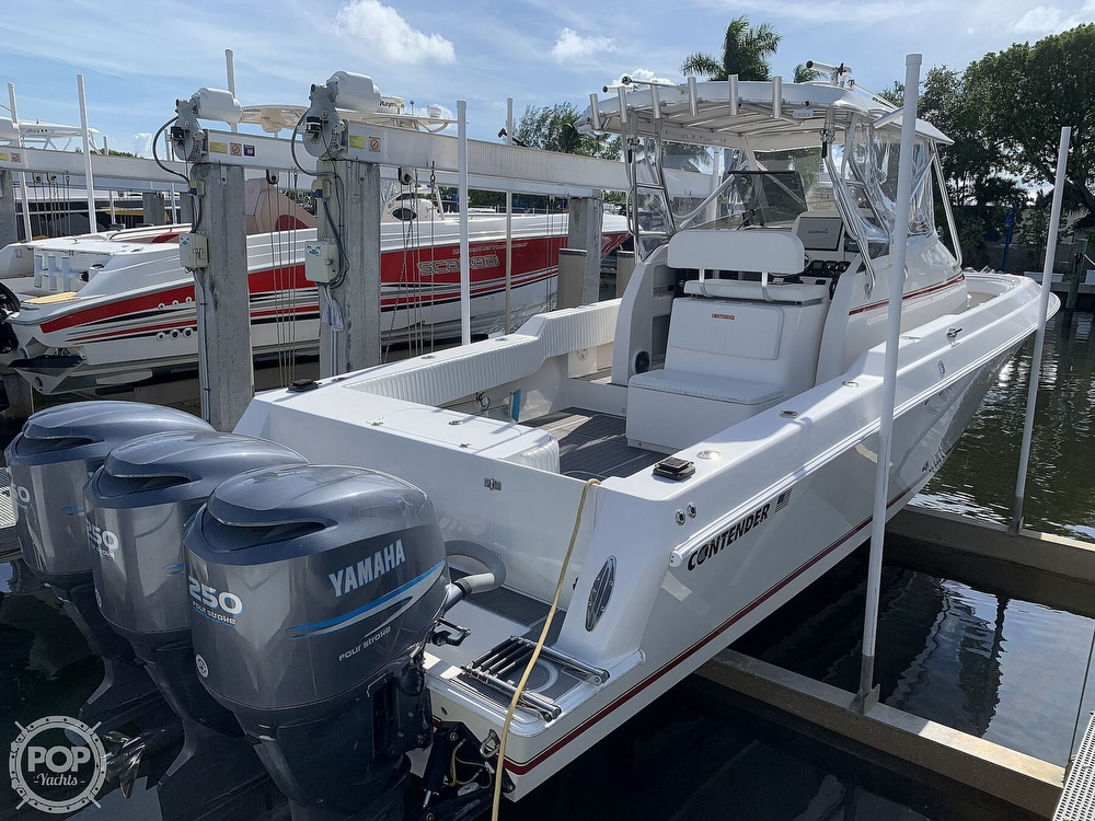 2008 Contender boat for sale, model of the boat is 36 Fish Around & Image # 5 of 40
