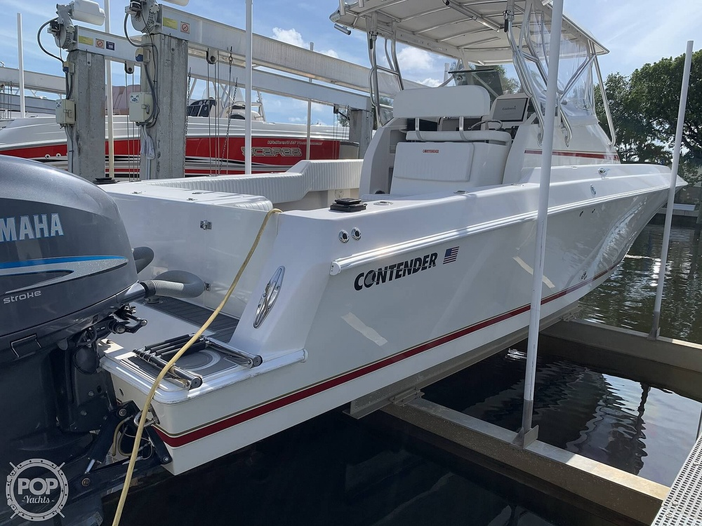 2008 Contender boat for sale, model of the boat is 36 Fish Around & Image # 10 of 40