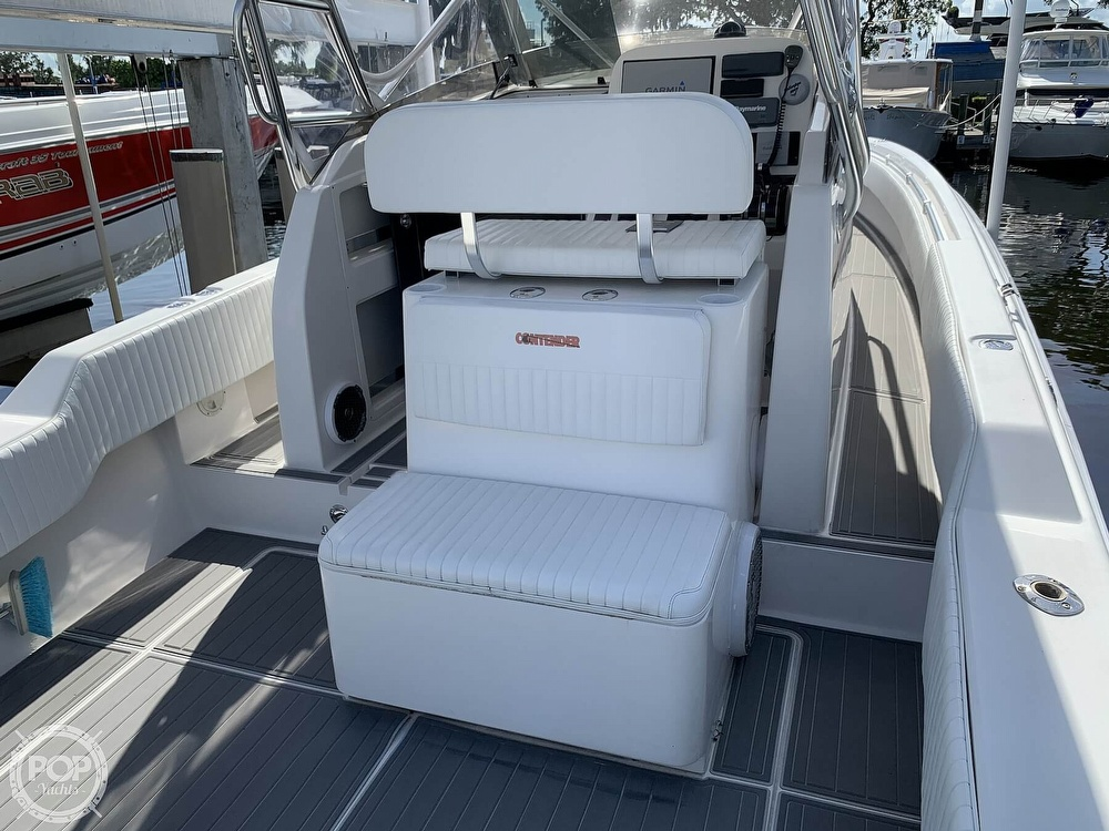 2008 Contender boat for sale, model of the boat is 36 Fish Around & Image # 23 of 40