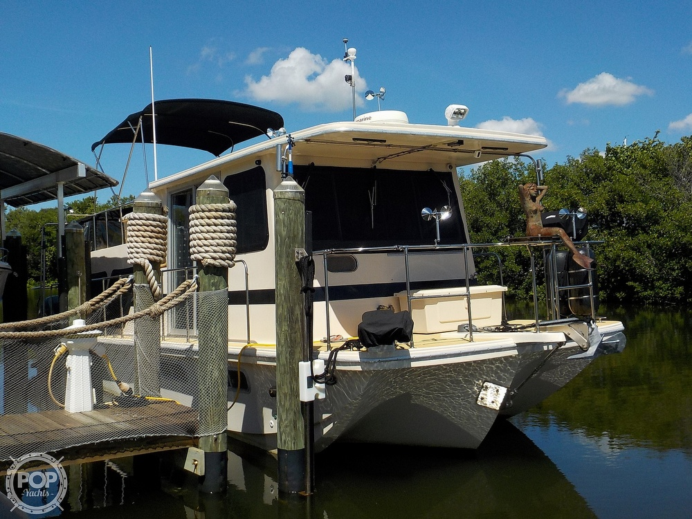 1987 Holiday Mansion boat for sale, model of the boat is 38 Coastal Barracuda & Image # 4 of 40