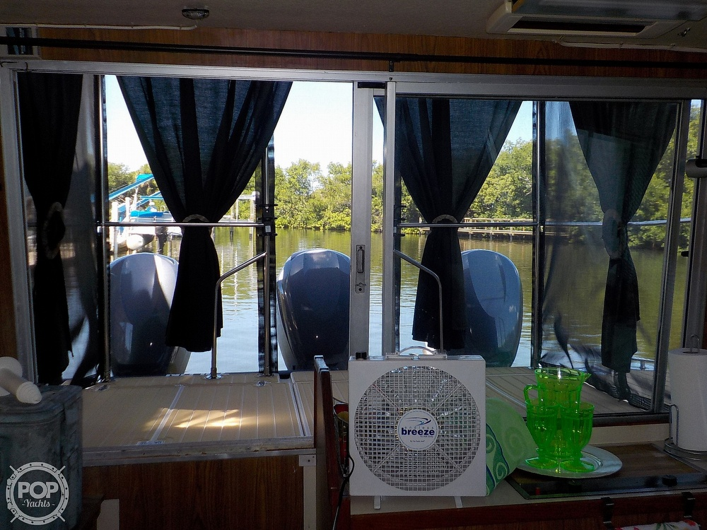 1987 Holiday Mansion boat for sale, model of the boat is 38 Coastal Barracuda & Image # 12 of 40