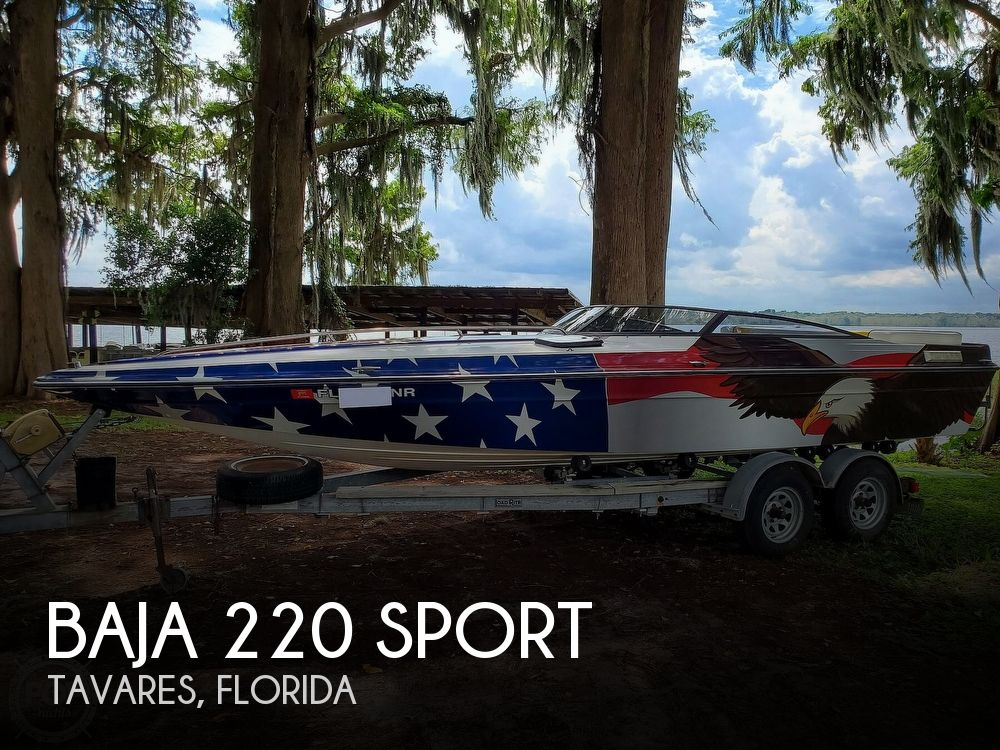 1986 Baja boat for sale, model of the boat is Sport 220 & Image # 1 of 40