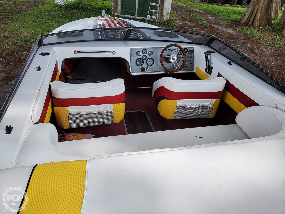 1986 Baja boat for sale, model of the boat is Sport 220 & Image # 36 of 40