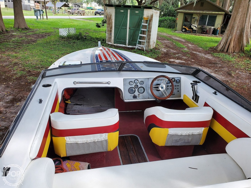 1986 Baja boat for sale, model of the boat is Sport 220 & Image # 37 of 40