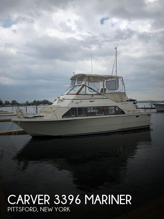 Used Carver Boats For Sale in Syracuse, New York by owner | 1978 Carver 3396 Mariner