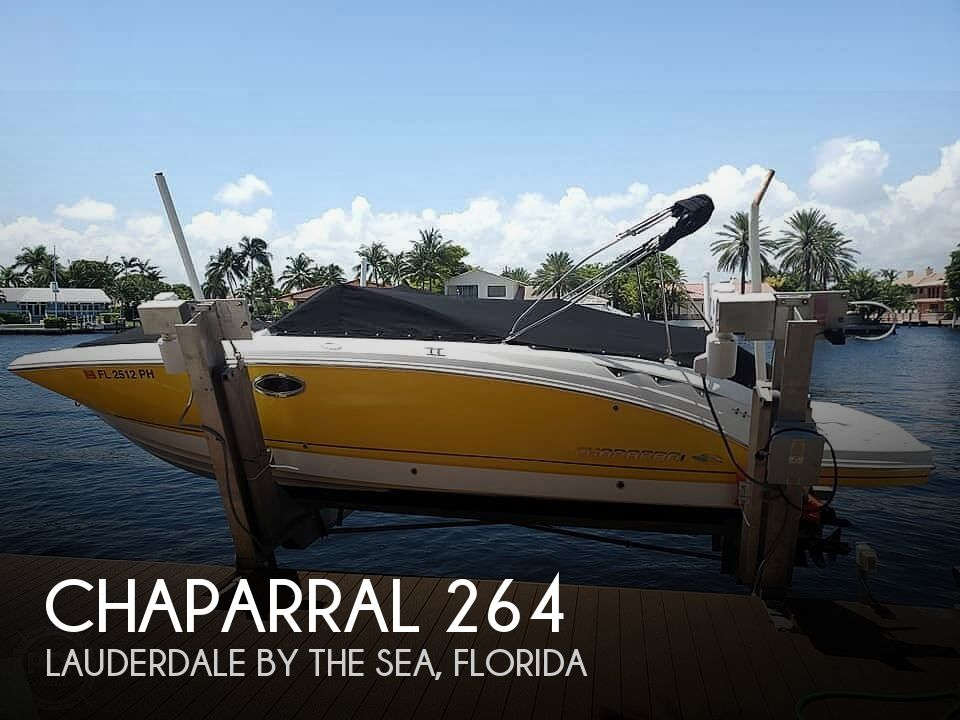 Used Chaparral 26 Boats For Sale by owner | 2012 Chaparral 262