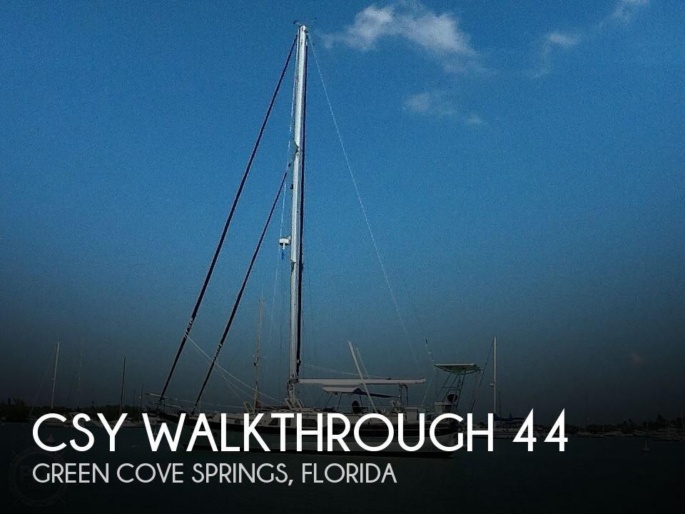 Used CSY Boats For Sale by owner | 1980 CSY Walkthrough 44