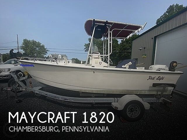 2001 May-Craft boat for sale, model of the boat is 1820 & Image # 1 of 40