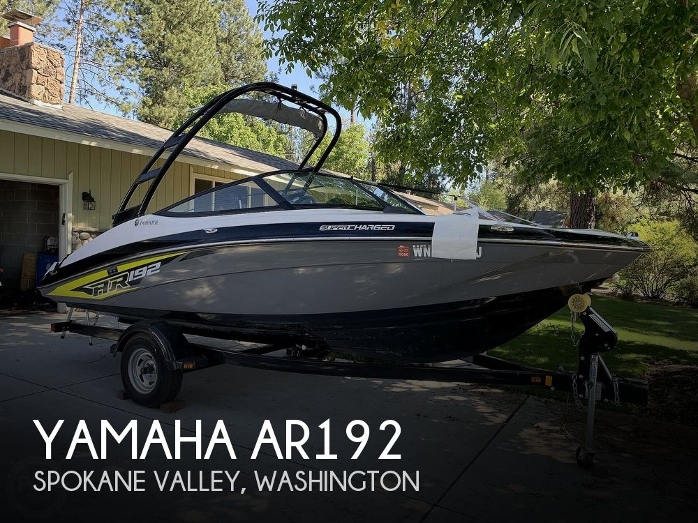 2016 Yamaha boat for sale, model of the boat is AR192 & Image # 1 of 40