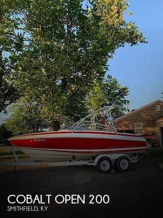 1994 Cobalt boat for sale, model of the boat is Open 200 & Image # 1 of 13