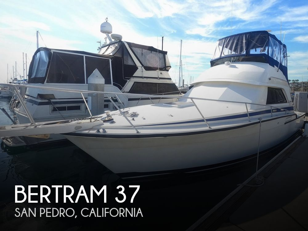 1987 Bertram boat for sale, model of the boat is Convertible 37 & Image # 1 of 40