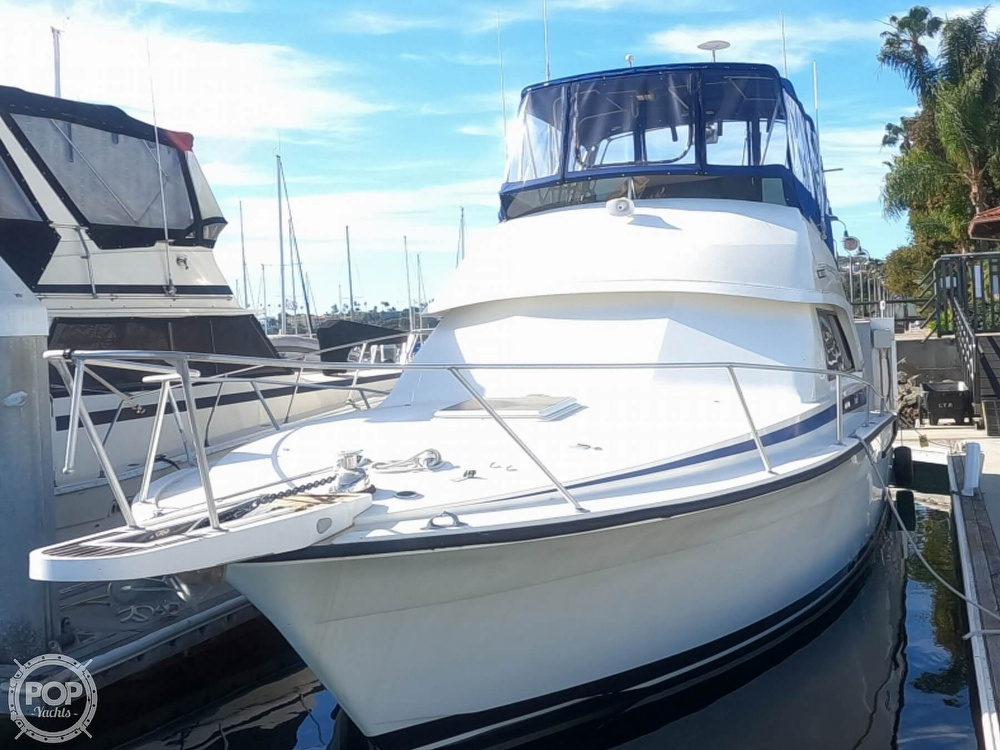 1987 Bertram boat for sale, model of the boat is Convertible 37 & Image # 4 of 40