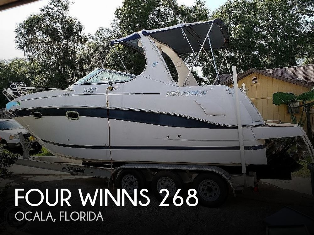 Used Four Winns 26 Boats For Sale by owner | 2005 Four Winns Vista 268