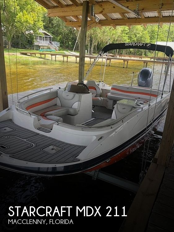 Used Starcraft Deck Boats For Sale by owner | 2018 Starcraft MDX 211