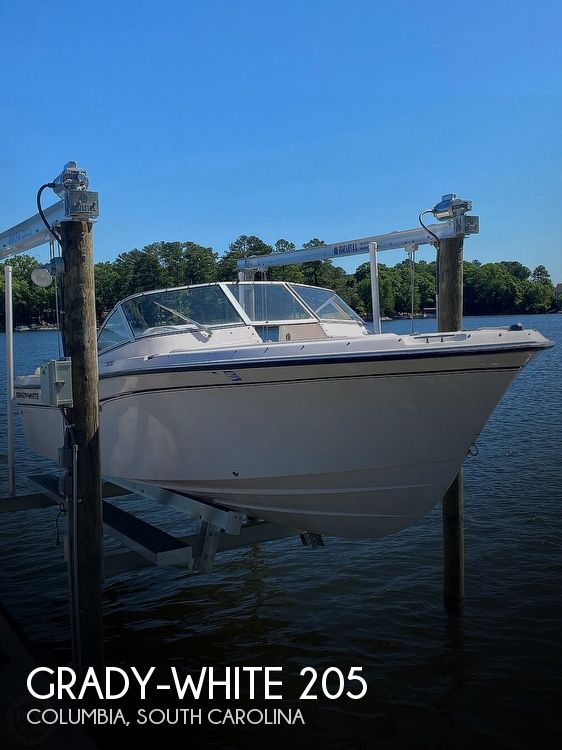 2008 Grady-White boat for sale, model of the boat is Tournament 205 & Image # 1 of 41