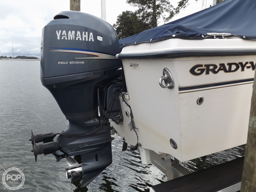 2008 Grady-White boat for sale, model of the boat is Tournament 205 & Image # 21 of 41